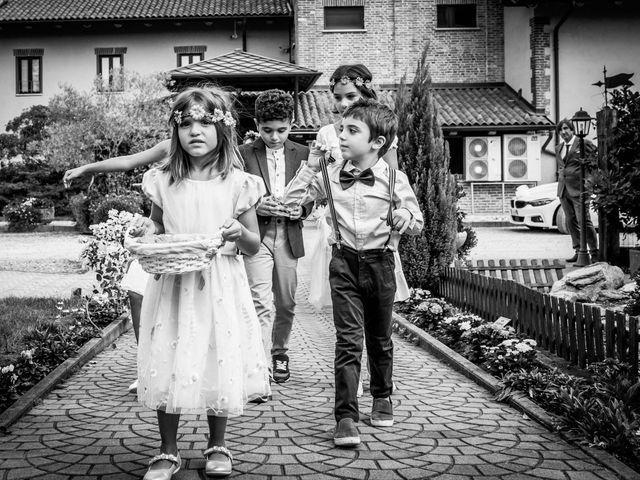 Il matrimonio di Karen e Davide a Gerbole di Volvera, Torino 15
