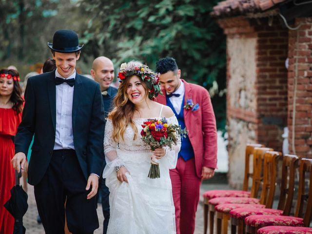 Il matrimonio di Karen e Davide a Gerbole di Volvera, Torino 22