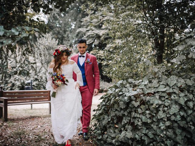 Il matrimonio di Karen e Davide a Gerbole di Volvera, Torino 27
