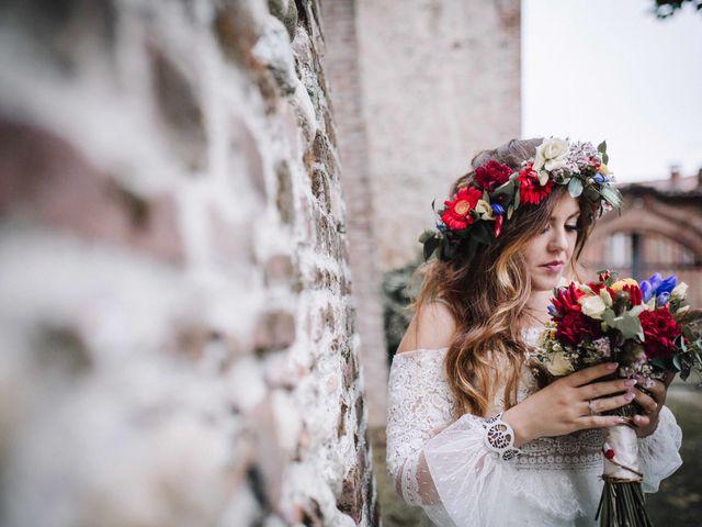 Il matrimonio di Karen e Davide a Gerbole di Volvera, Torino 29