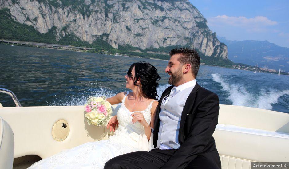 Il matrimonio di Massimo e Beatrice a Pescate, Lecco