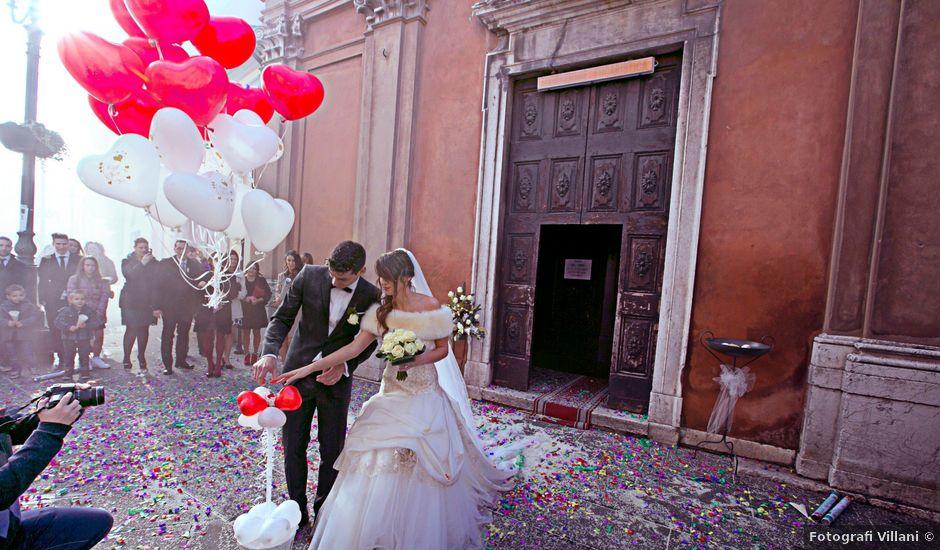 Il matrimonio di Andrea e Maurizia a Montichiari, Brescia