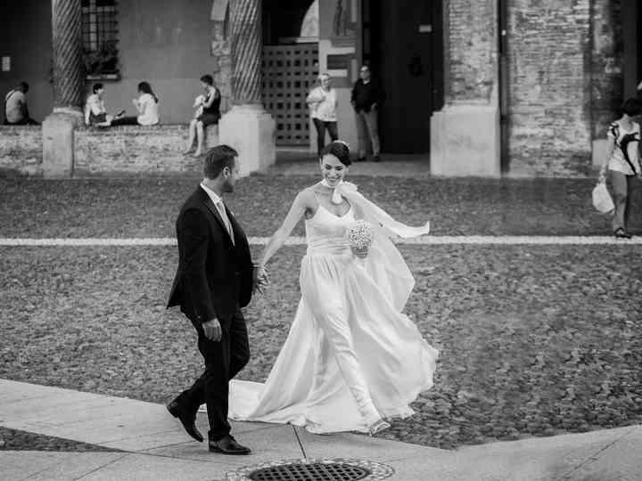 Le nozze di Stefania e Thomas