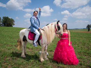 Le nozze di Stefania e Patrick