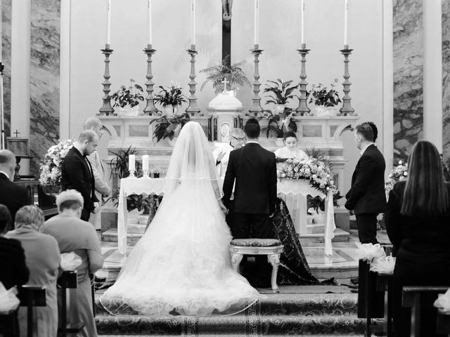 Il matrimonio di Ivan e Jasmine a Montecarlo, Lucca 43