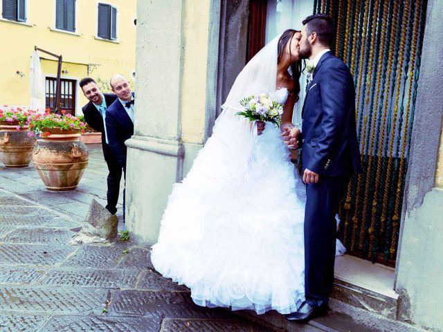 Il matrimonio di Ivan e Jasmine a Montecarlo, Lucca 82