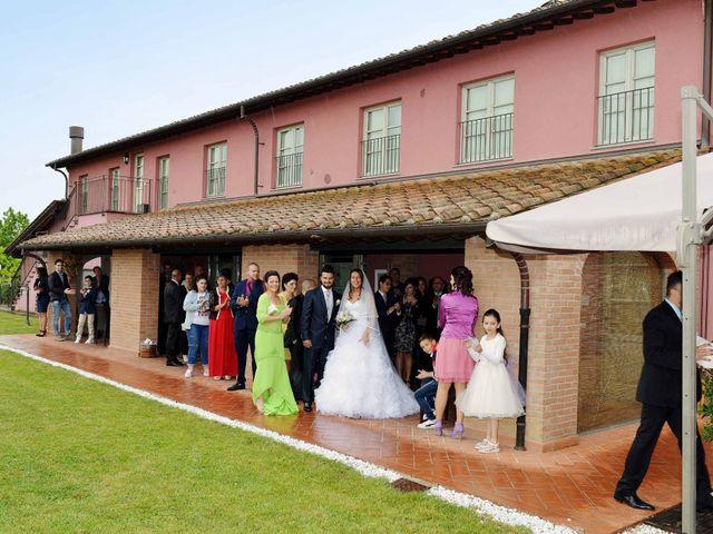 Il matrimonio di Ivan e Jasmine a Montecarlo, Lucca 95