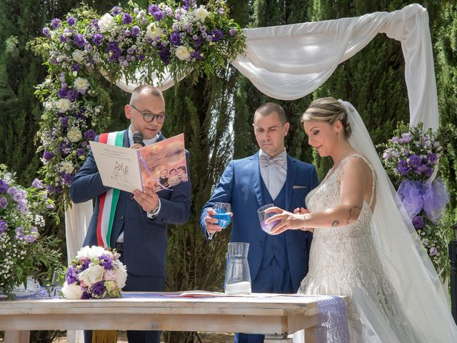 Il matrimonio di Luca e Marina a Soriano nel Cimino, Viterbo 21