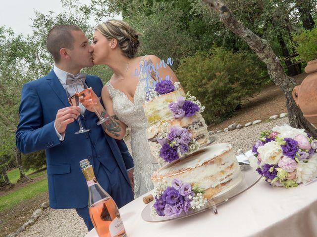 Il matrimonio di Luca e Marina a Soriano nel Cimino, Viterbo 35