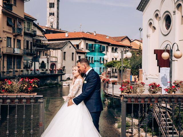 Il matrimonio di Alessio e Michela a Omegna, Verbania 34