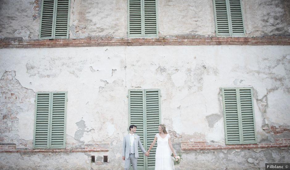 Il matrimonio di Massimiliano e Roberta a Monteriggioni, Siena