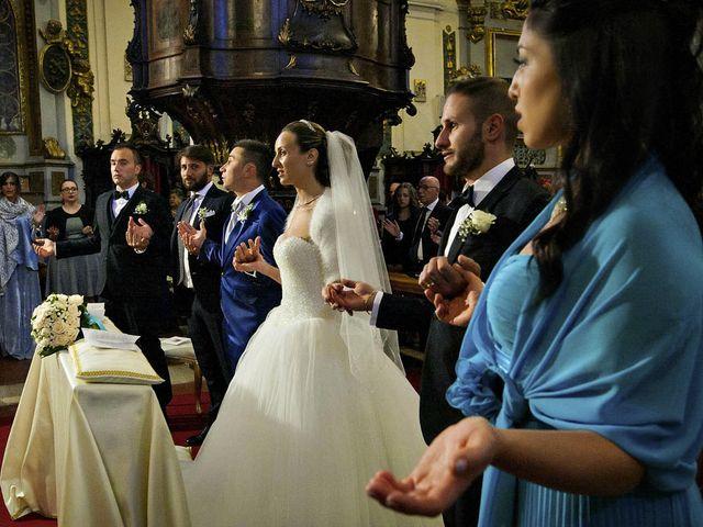 Il matrimonio di Dario e Valentina a Scanno, L'Aquila 48