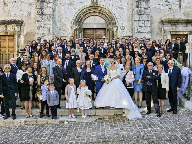Il matrimonio di Dario e Valentina a Scanno, L'Aquila 54