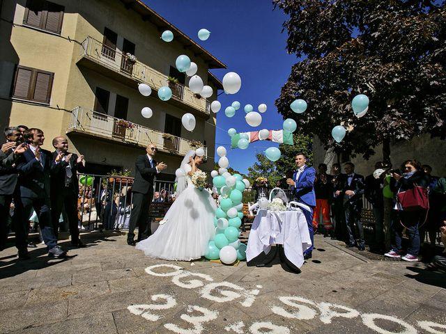 Il matrimonio di Dario e Valentina a Scanno, L'Aquila 56