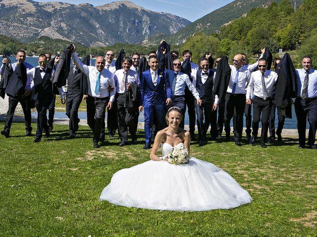 Il matrimonio di Dario e Valentina a Scanno, L'Aquila 57