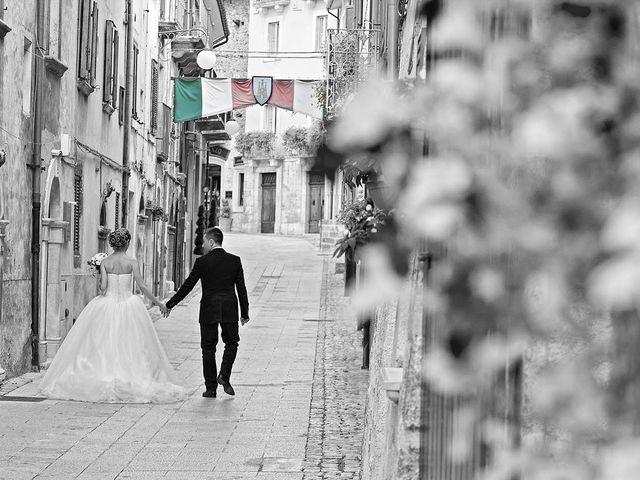 Il matrimonio di Dario e Valentina a Scanno, L'Aquila 61