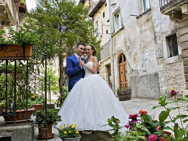 Il matrimonio di Dario e Valentina a Scanno, L'Aquila 63