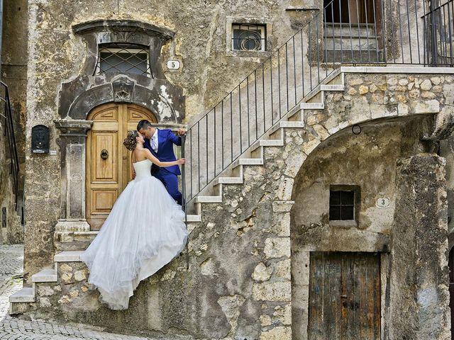 Il matrimonio di Dario e Valentina a Scanno, L'Aquila 1