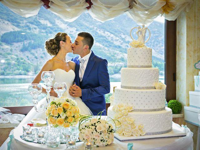 Il matrimonio di Dario e Valentina a Scanno, L'Aquila 74