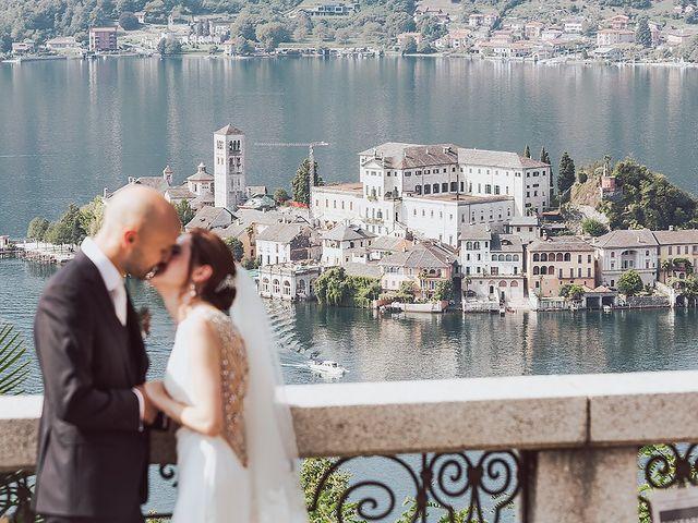 Il matrimonio di Roberto e Natalia a Orta San Giulio, Novara 42