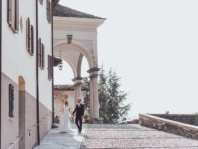 Il matrimonio di Roberto e Natalia a Orta San Giulio, Novara 43