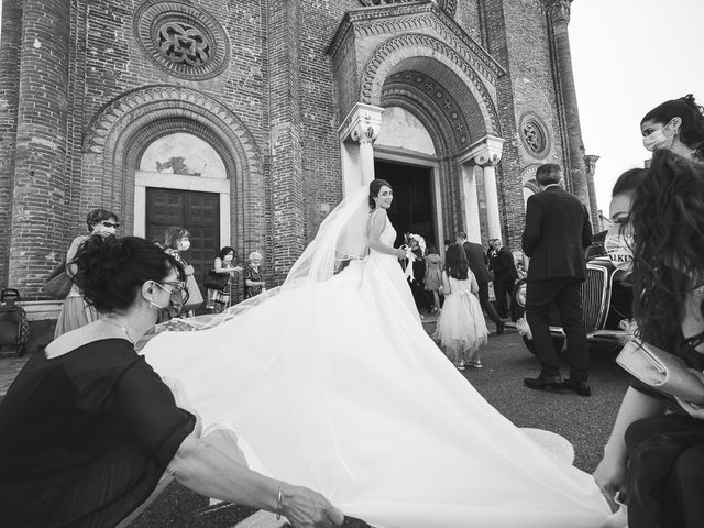 Il matrimonio di Cesare e Antonella a Soncino, Cremona 1
