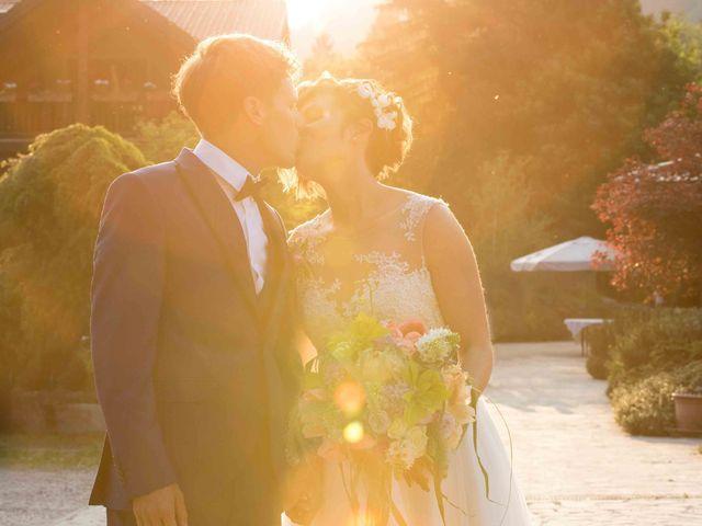 le nozze di Serena e Matteo