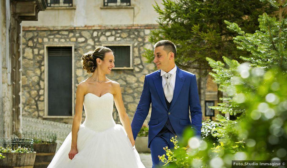 Il matrimonio di Dario e Valentina a Scanno, L'Aquila