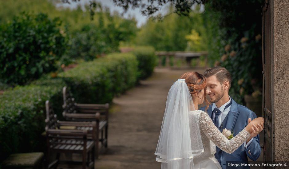 Il matrimonio di Claudia e Andrea a San Martino al Cimino, Viterbo