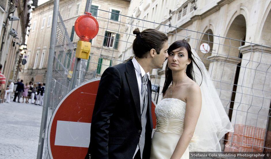 Il matrimonio di mino e stefania a Macerata, Macerata