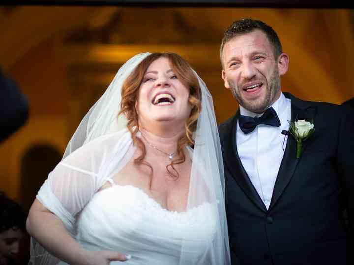 Le nozze di Patrizia e Daniele