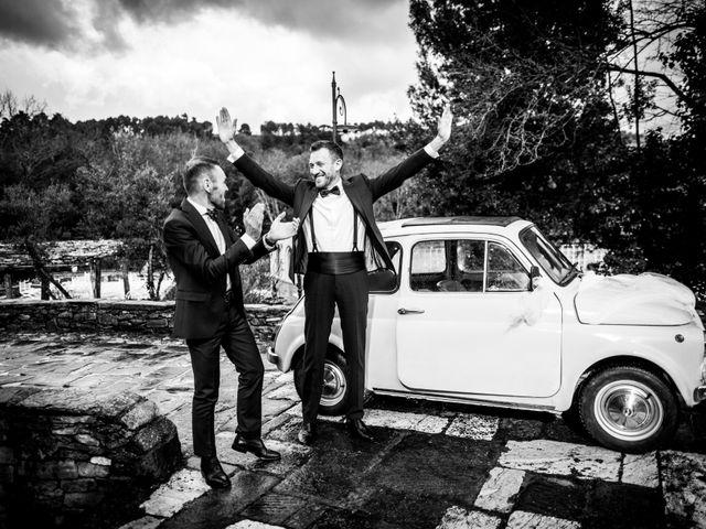 Il matrimonio di Daniele e Patrizia a Fucecchio, Firenze 23