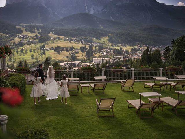 Il matrimonio di Andrea e Vanessa a Cortina d'Ampezzo, Belluno 66