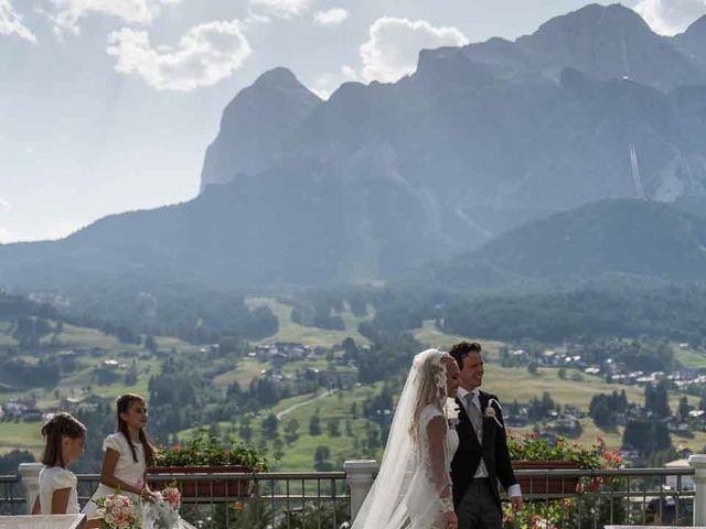 Il matrimonio di Andrea e Vanessa a Cortina d'Ampezzo, Belluno 67