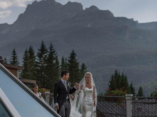 Il matrimonio di Andrea e Vanessa a Cortina d'Ampezzo, Belluno 68
