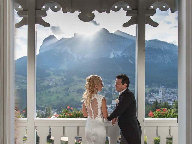 Il matrimonio di Andrea e Vanessa a Cortina d'Ampezzo, Belluno 70