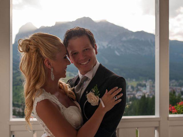 Il matrimonio di Andrea e Vanessa a Cortina d'Ampezzo, Belluno 71