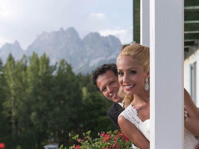 Il matrimonio di Andrea e Vanessa a Cortina d'Ampezzo, Belluno 74