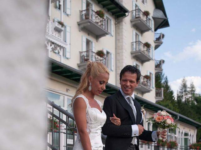Il matrimonio di Andrea e Vanessa a Cortina d'Ampezzo, Belluno 80