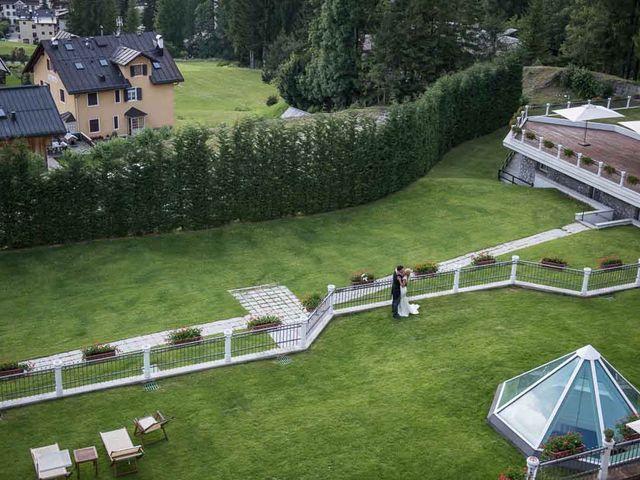 Il matrimonio di Andrea e Vanessa a Cortina d'Ampezzo, Belluno 81