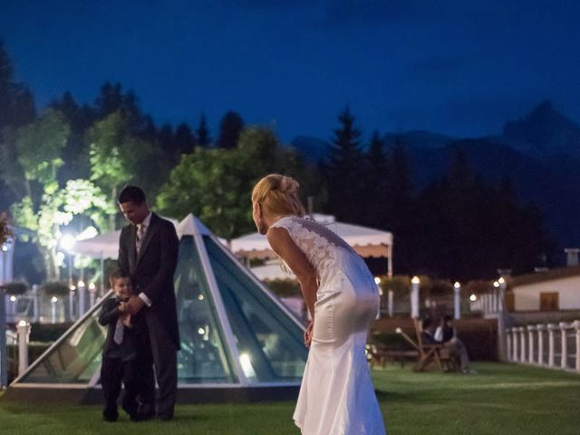 Il matrimonio di Andrea e Vanessa a Cortina d'Ampezzo, Belluno 107