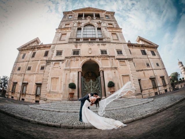 Il matrimonio di Patrich e Denise a Frascati, Roma 69
