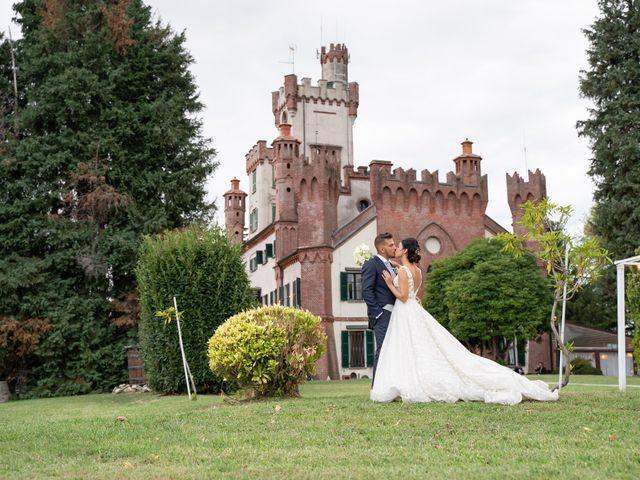 Il matrimonio di Federico  e Jessica  a Pombia, Novara 13
