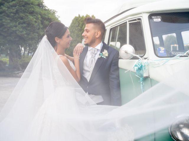 Il matrimonio di Federico  e Jessica  a Pombia, Novara 14