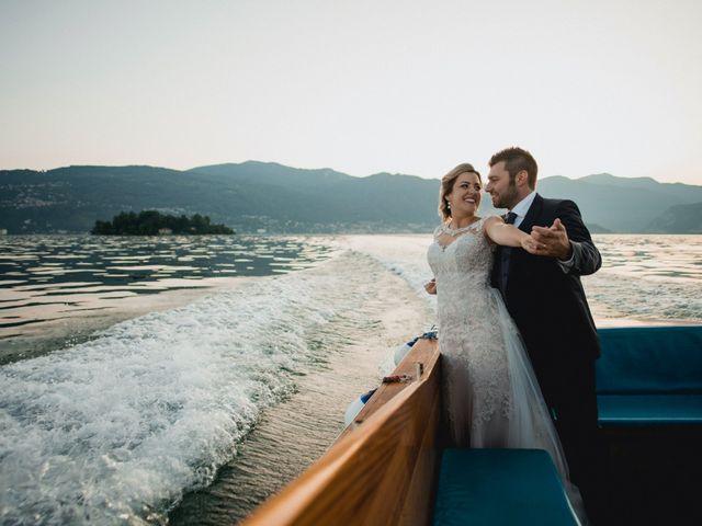 Il matrimonio di Enrico e Tatiana a Verbania, Verbania 57