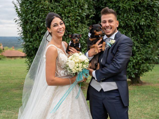Il matrimonio di Federico  e Jessica  a Pombia, Novara 35