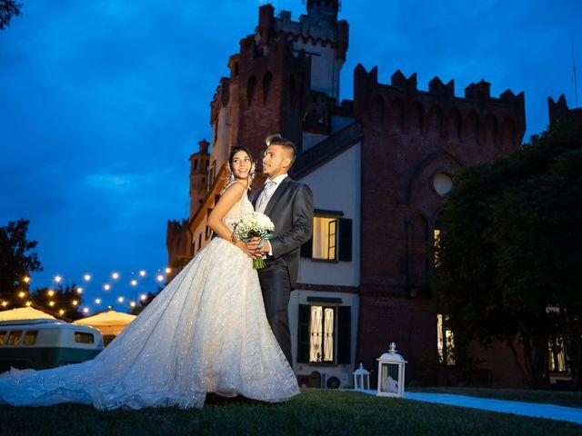 Il matrimonio di Federico  e Jessica  a Pombia, Novara 38