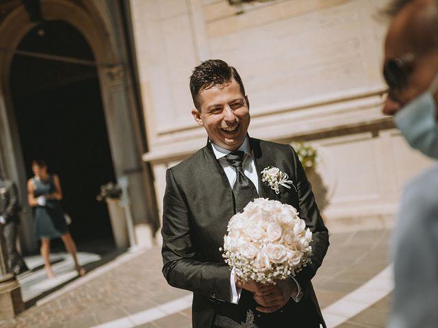 Il matrimonio di Francesco e Miriam a Roè Volciano, Brescia 11