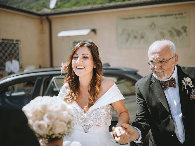Il matrimonio di Francesco e Miriam a Roè Volciano, Brescia 13