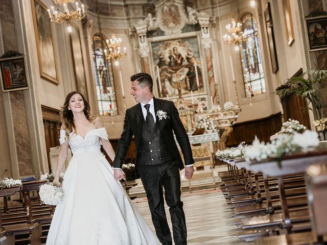 Il matrimonio di Francesco e Miriam a Roè Volciano, Brescia 16